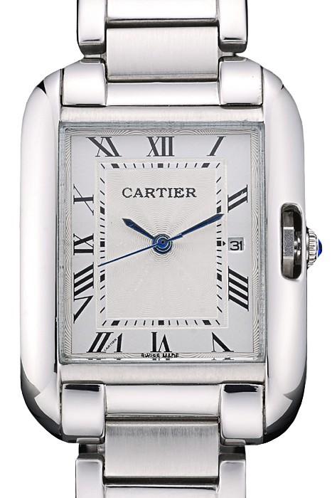 White Dial Cartier Tank replica Review