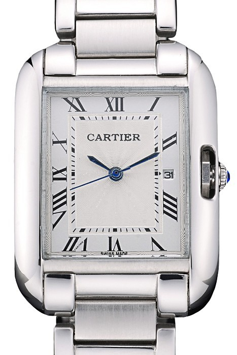 White Dial Cartier Tank replica